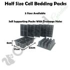 BEDDING PACKS 4 , 6 , 9 , 12  20 CELL SEED TRAYS HALF INSERTS PROPAGATOR TRAY