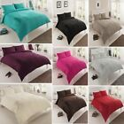 Pure Design Modern 3Pcs Duvet Cover with Pillowcases Bedding Set in all sizes