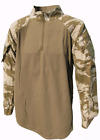 British Military Under Body Armour Combat Shirt  - Desert DPM Camo