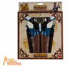 Cowboy Gun Set Western Holster Belt Fancy Dress Accessory