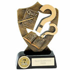 Quiz Trophy, Pub Quiz Award, Charity Quiz, Resin  2 sizes FREE ENGRAVING