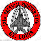 STICKER USAF 131st Tactical Fighter Wing F15 Eagle