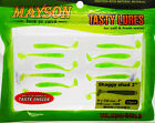 #104 MAYSON Shaggy Shad KEITECH Swing Impact Finesse Soft Scented Salty Lure