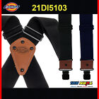 Dickies Men's Nylon X-Shaped Heavy Duty Industrial Thick Work Suspender NEW 5103