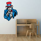 Uncle Sam American Flag Wall Decal - Vinyl Decal - Car Decal - CFCOLOR016
