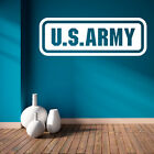 US Army Wall Decal - Vinyl Decal - Car Decal - CF087