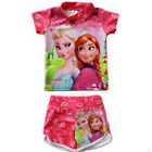 2pcs Frozen Kids Swimwear surfing swimming suit Girls Fission Swimsuit Tankini