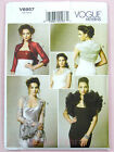 Vogue V8957 Sewing Pattern Misses' Jackets/Bolero with Flounces & Ruffles