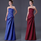 New Prom Gown Women Dresses Bridesmaid Evening Party Long Dress 6 8 10 12 14 16+