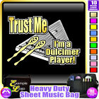 Dulcimer Trust Me - - Sheet Music & Accessories Personalised Bag by MusicaliTee