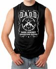 DADD Dads Against Daughters Dating - Father's Day Guns Men's SLEEVELESS T-shirt