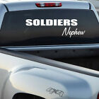 Soldiers Nephew Wall Decal - Vinyl Decal - Car Decal - CF018