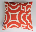 OUTDOOR INDOOR THROW CUSHION COVERS MANGO RED CARMODY SOFA LOUNGE PILLOW NEW