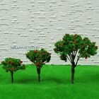 10 X Model Tree Flower Train Railway Layout Scenery Landscape Green Toy 4-6.5cm