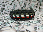Royal Regiment Of Wales 550 Paracord Survival Bracelet / Dog Collar Military RRW