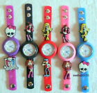MONSTER HIGH JIBBITZ BAND WATCH & A SET OF 8 MONSTER HIGH CHARMS, BRAND NEW