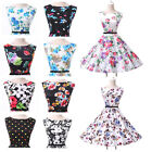 50s 6s Vintage Style Rockabilly Evening Graduation Swing Prom Housewife Dresses