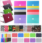 "Rubberized Hard Case +Keyboard Cover Skin for Macbook Pro 13""15""/Air 11""13""inch"