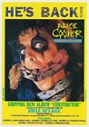 ALICE COOPERConstrictor PHOTO Print POSTER Trash Poison Tour Shirt 004