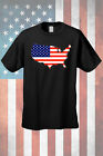 Men's Patriotic T-Shirt USA Flag & Country Pride Stars & Stripes Proud American