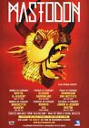 MASTODON The Hunter 2012 UK Tour PHOTO Print POSTER Once More Round The Sun 004