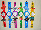 SKYLANDERS JIBBITZ BAND WATCH  & A SET OF 12  CHARMS, BRAND NEW
