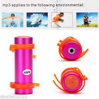 Hot New Waterproof MP3 Player USB Swimming Diving Water FM Radio Earphone 4GB 4G