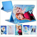 Cartoon Frozen Pu Wallet Cute Flip Case Cover For Ipad And Galaxy Tab