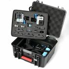 Smatree ABS Waterproof Hard Carry Case for GoPro Hero 7 6 5 4 3+,Gopro Hero 2018