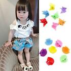 30Pcs New Fashion Mixed colors Plastic Hair Clip Baby Women Clamp 9 Style HUCA
