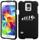 For Samsung S4 S5 S6 Mini Active Rubber Hard Case Evolution Mountain BMX Bike