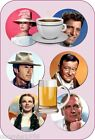 GOLDEN AGE OF HOLLYWOOD ICONS DRINKS COASTER PERFECT GIFT IDEA