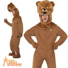 Bungle Bear Costume Rainbow TV 70s 80s Fancy Dress Funny Stag Party Outfit New