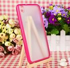 Top Holiday Gifts For HTC Desire 816 - HARD GUMMY TPU RUBBER SILICONE FITTED SKIN PHONE CASE COVER