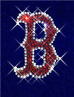 Red Sox Rhinestone Hoodie Sweatshirt Shirt Sizes S, M, L, XL, 2X
