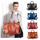 Oil Leather Handbags Womens Shoulder Bags Tote Vintage Satchel bags