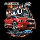 FORD SHELBY GT 500 MUSTANG SWEAT SHIRT BLACK