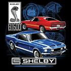FORD SHELBY GT 500 COBRA MUSTANG POCKET TEE T SHIRT BLACK M TO 4XL