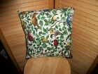 "Song Birds Cardinal Throw pillow cover 14"", 16"" and 18"" sizes available"