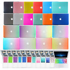 "Rubberized Hard Cases+ EU/US Layout Keyboard Cover for Macbook Pro Air 11""13""15"""