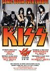 KISS Sonic Boom Over Europe 2010 Tour PHOTO Print POSTER Monster Shirt 006