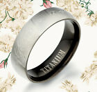US Valentine's Day Gift Titanium Wedding Promise Rings GM087A1
