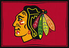 Chicago Blackhawks Milliken NHL Team Spirit Area Rug $69.0 USD on eBay