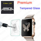 Premium Tempered Glass Screen Protector Film For Apple Watch iWatch 38mm 42mm