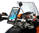 """Motorcycle M6 M8 M10 Top Clamp Mount + Case for Apple iPhone 6 plus 6s plus 5.5"""""""
