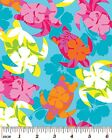 Island Turtles Fabric Sea Ocean Hawaii Tropical 4 Colors Available Cotton New