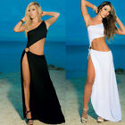 2015 Designer Women Summer Boho Evening Party Long Maxi Beach Dress Rayon Cotton