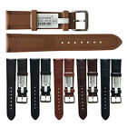 18mm,20mm,22mm banda de reloj de cuero Calfskin Genuine Leather Watch Band es