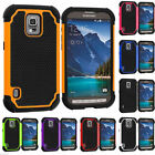 Hard Hybrid Rubber Outer Box Matte Shock Proof Case Cover For Samsung Galaxy S5