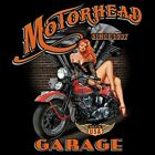 HOT ROD RACING MOTORHEAD GARAGE MADE IN THE USA V TWIN BIKER HOODIE BLACK